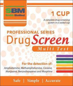 Multi drug screening test