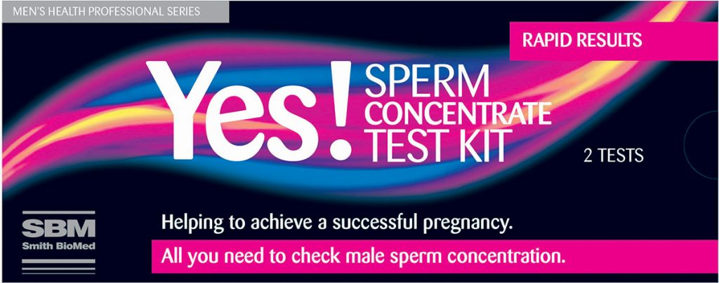 sperm concentrate test kit by smith biomed