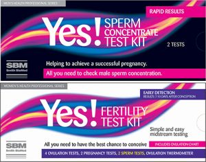 Yes sperm and fertility test kit